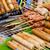 ázsiai · konyha · ízletes · tyúk · grillezett · hús · felszolgált · földimogyoró - stock fotó © leungchopan