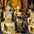 buddha statue with gold foil in temple stock photo © leungchopan