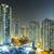 Hong · Kong · şehir · gece · yerleşim · Bina · inşaat · sokak - stok fotoğraf © leungchopan