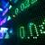 beurs · gegevens · display · witte · nummers · Rood - stockfoto © leungchopan
