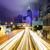 stoplicht · centrum · gebouw · licht · achtergrond · Blauw - stockfoto © leungchopan