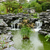 chinese garden with flowing water stock photo © leungchopan