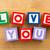 amor · brinquedo · de · madeira · madeira · escolas · tabela · carta - foto stock © leungchopan