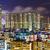Hong · Kong · gökyüzü · Bina · gün · batımı · seyahat - stok fotoğraf © leungchopan