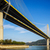 吊り橋 · 香港 · 空 · 水 · 道路 · 山 - ストックフォト © leungchopan