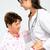 starszych · opieki · pielęgniarki · pomoc · starszy · bed - zdjęcia stock © leventegyori