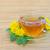 herbaty · Dandelion · kwiaty · medycznych · tle · zielone - zdjęcia stock © lianem