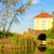 Inglés · Villa · jardín · lago · parque · blanco - foto stock © lianem