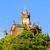 kastély · Németország · kilátás · zöld · borostyán · levelek - stock fotó © lianem