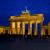 berlin brandenburg gate night 01 stock photo © lianem