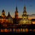 dresden old town night stock photo © lianem
