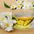 tea · teáskanna · ág · fa · asztal · virág · étel - stock fotó © lianem