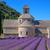 campo · de · lavanda · flores · beleza · verão · campo · verde - foto stock © lianem