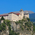 opactwo · Włochy · górskich · rock · zamek · wieża - zdjęcia stock © lianem