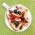 gezonde · ontbijt · müsli · vruchten · voedsel · appel - stockfoto © lidante
