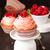 decorado · rosa · aniversário · bolo · suporte - foto stock © lidante