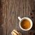 kávé · ízek · bögre · kávé · mogyoró · fahéj - stock fotó © lidante