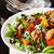 saláta · datolyaszilva · gyümölcsök · friss · diók · előétel - stock fotó © lidante