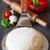 ruw · pizza · meel · witte · koken · vers - stockfoto © lidante