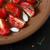 frescos · baguettes · tomates · rojo · placa - foto stock © lidante