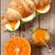 круассан · служивший · завтрак · оранжевый · плод · продовольствие - Сток-фото © lidante