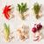 草藥 · 拼貼 · 白 · 照片 · 不同 · 新鮮 - 商業照片 © lidante