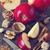 almák · diók · fahéj · szürke · természet · piros - stock fotó © lidante