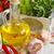 Geel · squash · sla · groene · erwten · plantaardige - stockfoto © lidante