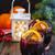 brilhante · vinho · uva · mesa · de · madeira · festa · fruto - foto stock © lidante