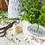 ervas · vintage · jardim · tesoura · diferente · fresco - foto stock © lidante