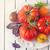 amarillo · tomates · adjunto · corto · vid - foto stock © lidante