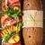 grelhado · pêssegos · prato · fresco · verão - foto stock © lidante