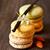 vanilya · macarons · üç · fransız · rustik - stok fotoğraf © lidante