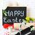 chocolate · Conejo · de · Pascua · huevos · delicioso · Pascua - foto stock © lidante
