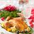 fruto · laranja · vermelho · prato · morango · uvas - foto stock © lidante