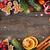 dekore · edilmiş · kurabiye · yeşil · dekorasyon · doku - stok fotoğraf © lidante