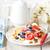 sağlıklı · kahvaltı · brunch · ahşap · kahve · meyve - stok fotoğraf © lidante