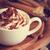 közelkép · frissen · előkészített · csésze · kávé · csokoládé - stock fotó © lidante