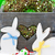 искусства · Пасху · ребенка · кролик · пасхальных · яиц · весны - Сток-фото © lidante