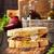 salsiccia · formaggio · sandwich · foto · alimentare - foto d'archivio © lidante
