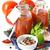 トマトソース · スパイス · チーズ · トマト · 調理 · ニンニク - ストックフォト © lidante