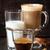 café · expresso · leite · pó · canela · vidro · grãos · de · café - foto stock © lidante