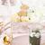 Pascua · mesa · pastel · rosa · decorado - foto stock © lidante