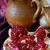 пластина · гранат · семян · белый · фрукты · группа - Сток-фото © lidante