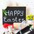 kleurrijk · Pasen · cookies · chocolade · eieren · achtergrond - stockfoto © lidante