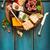 tradizionale · italiana · pane · formaggio · salame · alimentare - foto d'archivio © lidante