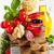 tradicional · comida · italiana · tagliatelle · ingredientes · pasta · como - foto stock © lidante