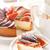 チーズケーキ · クローズアップ · チーズケーキ · ジャム · プレート · 食品 - ストックフォト © lidante