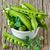 verde · ervilhas · folhas · branco · comida · planta - foto stock © lidante
