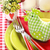 easter table setting stock photo © lidante